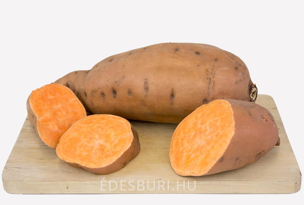 Narancssárga édesburgonya